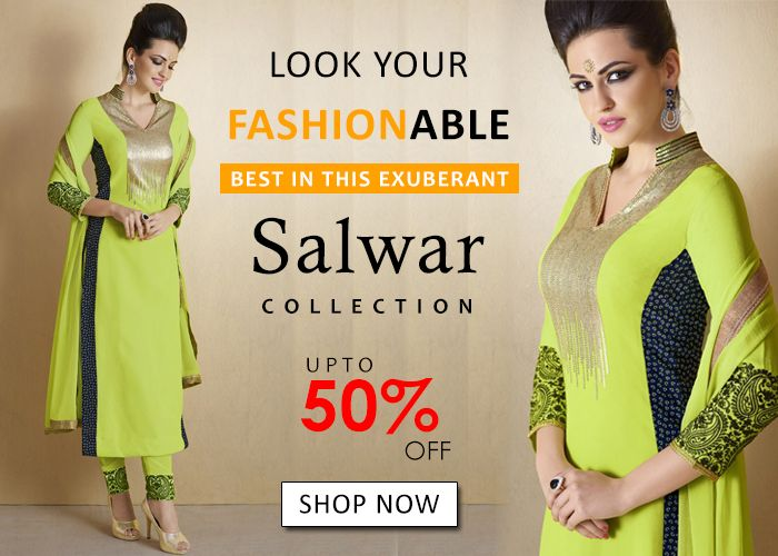BUY DESIGNERS & FASHIONABLE SALWAR SUITS ONLINE SHOPPING http://www.fly2kart.com/salwar-suits.html?utm_content=buffere435b&utm_medium=social&utm_source=pinterest.com&utm_campaign=buffer SALE UP TO 50% OFF!!! +91-8000800110 WHATSAPP OR CALL