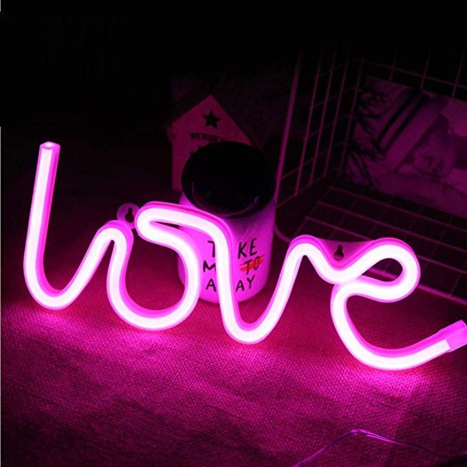 Mortime Love Neon Signs Led Neon Light For Party Supplies Girls