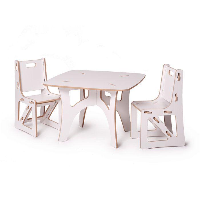 мебель небесный белый отделкой дуб ручные ремесла столы Дети и стулья для таблиц современной гостиной очаровательны детей и стулья