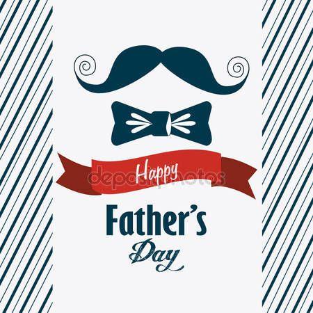 Pobieraj - Ojcowie szczęśliwy dzień karta projekt — Ilustracja stockowa #70348403