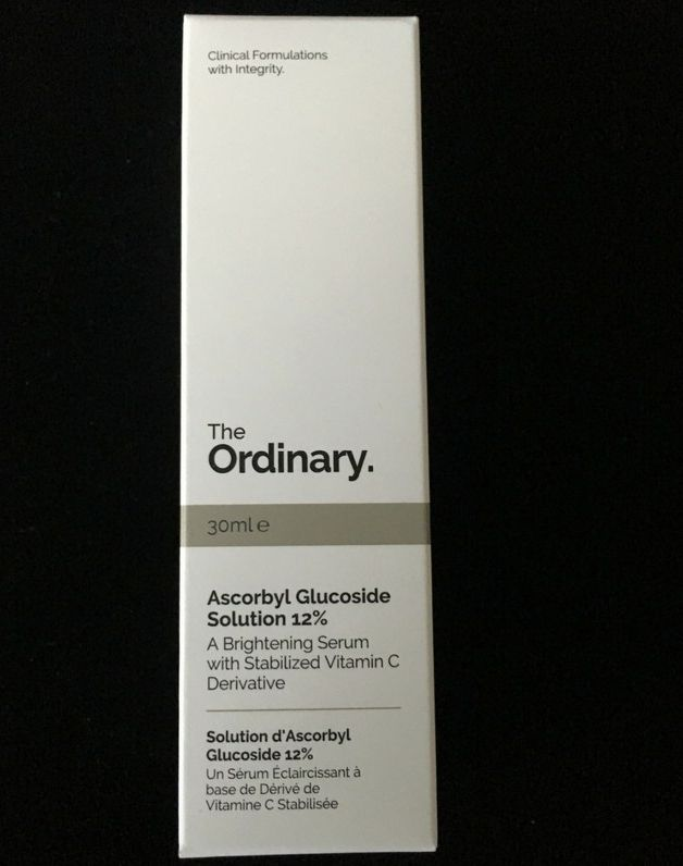 Hello, hello! Today I have a review of the Ascorbyl Glucoside Solution 12% from The Ordinary. So what is Ascorbyl Glucoside? [info in italics taken from The Ordinary website] Ascorbyl Glucoside is …