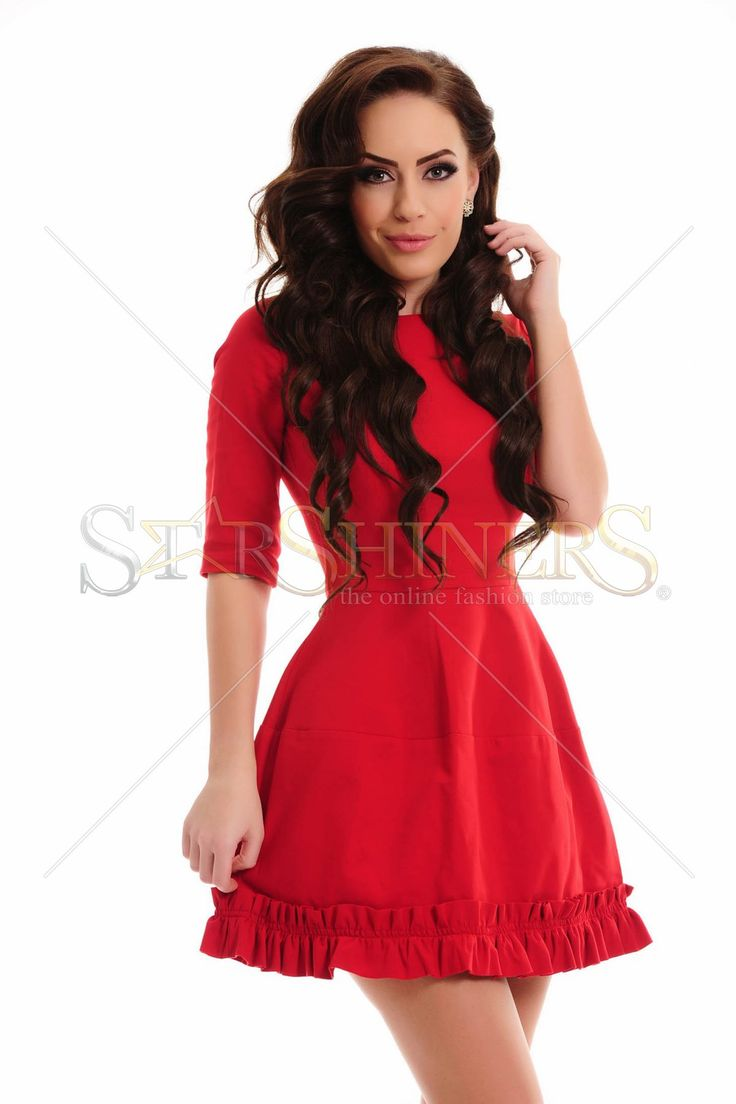 Artista Divine Twist Red Dress