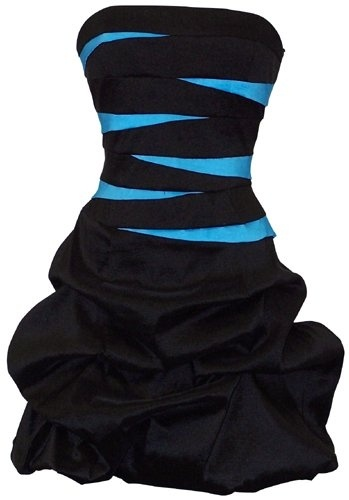 Blue / Black dress (: krystinbree