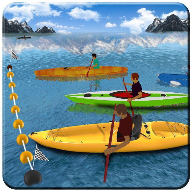 #NEW #iOS #APP Kayak Boat Racer Game 2018 - Imperial Arts Pty Ltd