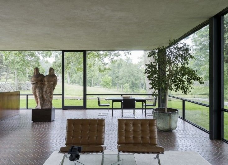 The-Glass-House-Philip-Johnson-New-Canaan-Connecticut-Matthew-Williams-Remodelista-