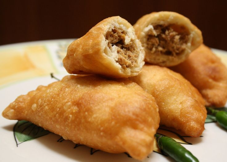 Panada, a kind of fish fried dumpling from Manado, North Sulawesi