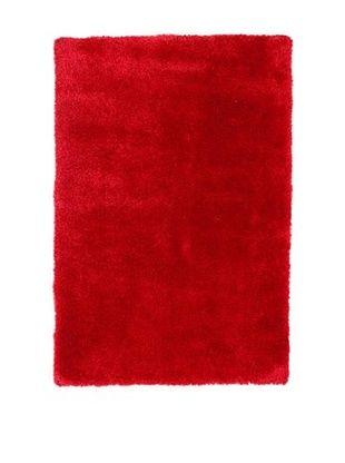 ABC Tappeto Shaggy Como (Corallo / Rosso)