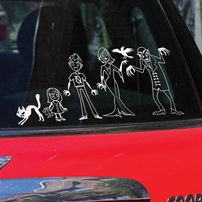 Best Funny Family Car Stickers Images On Pinterest Funny - Car window decals near mestar trek family car decals thinkgeek