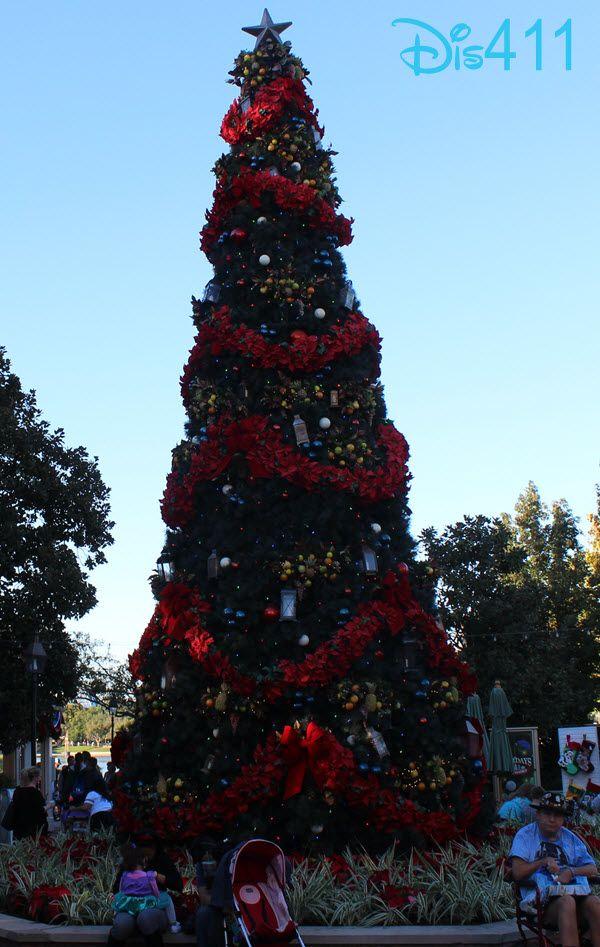 Christmas Decorations At Disney World Hotels : Photos christmas decorations at epcot in walt