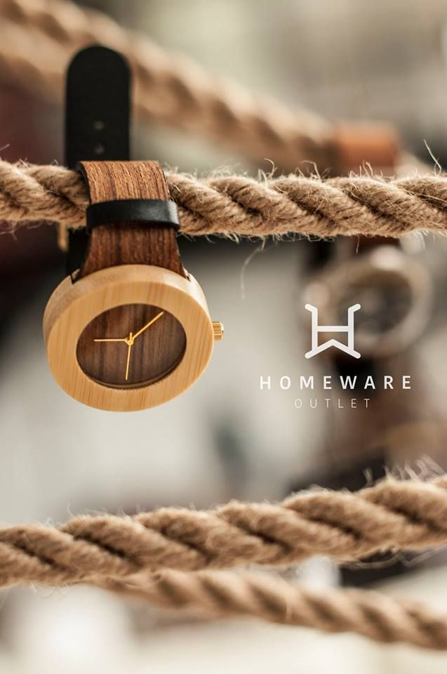 Teak & Bambus watch, Inspired by nature - The Carpenter Collection