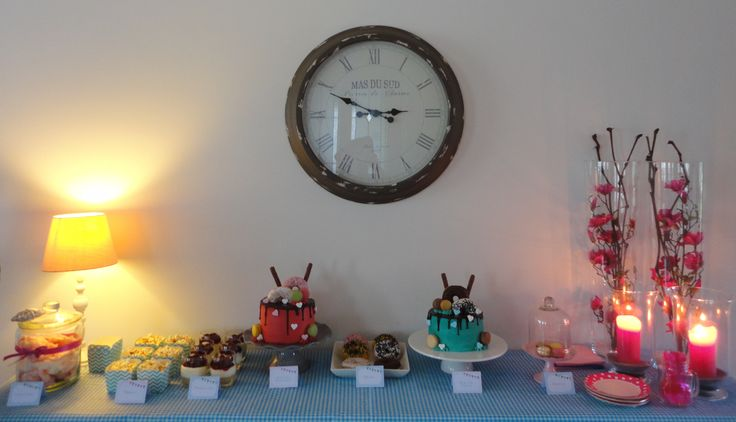 Sweettable drip cakes amerikaanse stijl