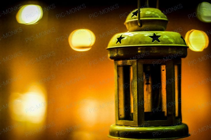 An electric storm lantern found in an old haveli, throwing warm, welcoming light on a forgotten corner