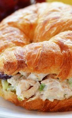 Chicken Salad Croissant Sandwiches...
