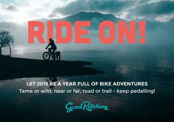 Happy pedalling in 2015 from the Good Rotations crew!