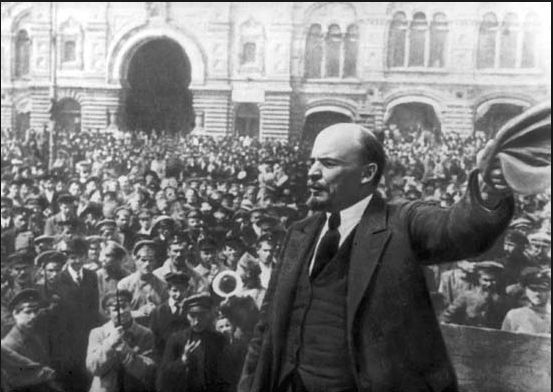 Lenin and the October Revolution of 1917