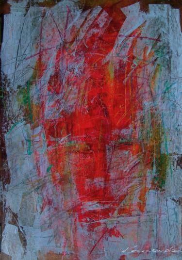 """Saatchi Art Artist Antoni Karwowski; Painting, """"Familiar face"""" #art"""