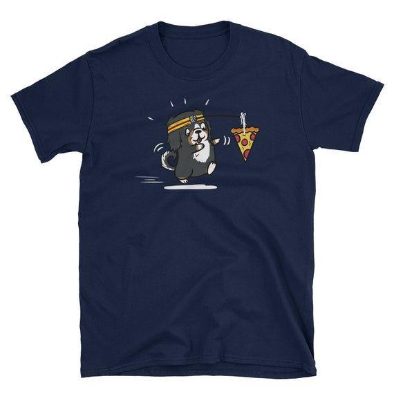 Bernese Mountain Dog Pizza Lover Running Shirt, Funny Bernese Mountain Dog T-Shirt, Bernese Mountain Dog T Shirt