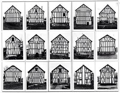 Bernd & Hilla Becher Conceptual art Black & white