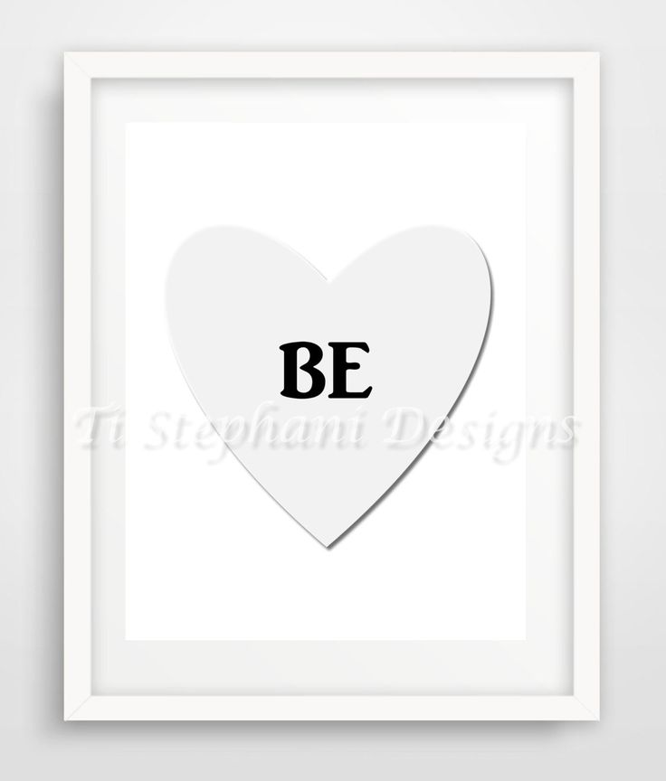 BE Print, Printable, Easy Prints, Downloadable Art, Wall Art, Wall Decor, Office Decor, Instant Downloads by TiStephani on Etsy