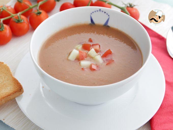 Ricetta Gazpacho andaluso - la vera ricetta