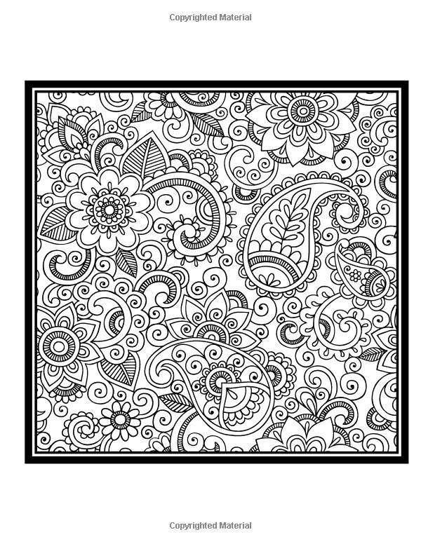 Paisley Coloring Book Vol. 2: Penny Farthing Graphics: 9781497384828: Amazon.com: Books