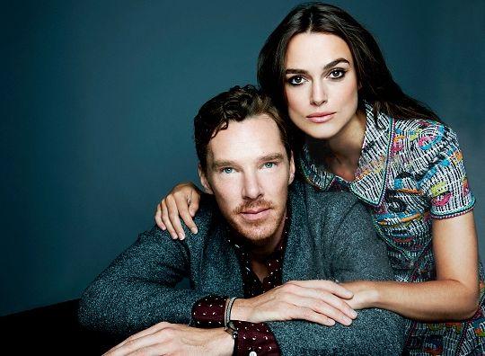 """ Benedict Cumberbatch and Keira Knightley - 2014 Toronto Film Festival Portraits """