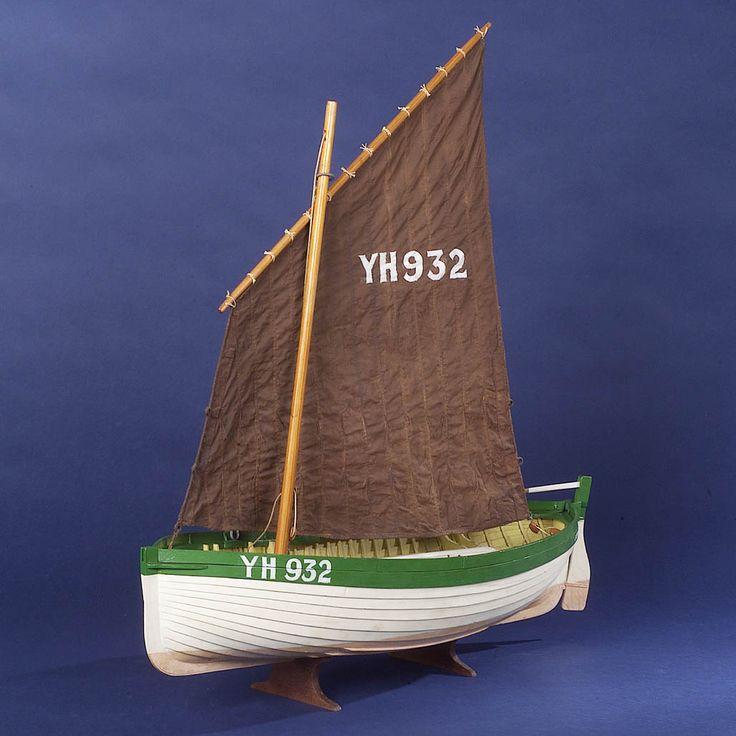 Jenny Lind (1888); Fishing vessel; Beach boat; Yarmouth beach boat - National Maritime Museum