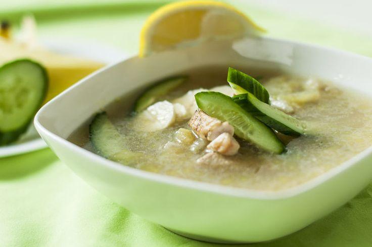 zupa ogórkowo-bananowa