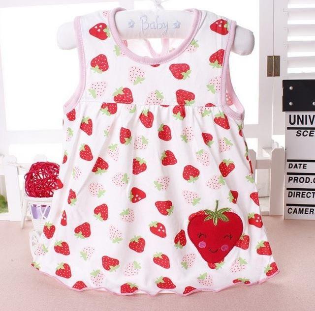 bc8f0b0010ea 2017 Baby girl Dress summer girls dresses style infantile Dress hot ...