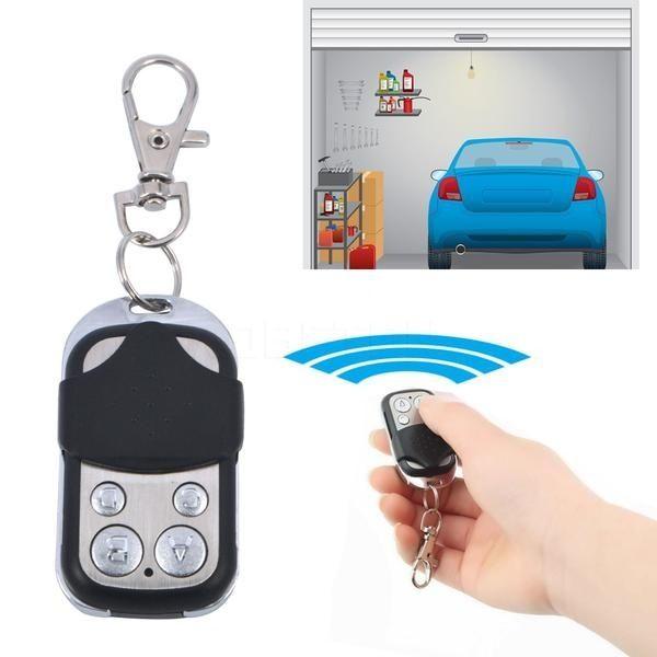 Wireless Electric Cloning Universal Gate Garage Door Remote Control Fob 433mhz Key Fob Keychain Garage Door Remote Control Garage Door Remote Universal Garage Door Remote