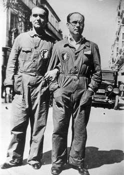 Federico Garcia Lorca y Eduardo Ugarte