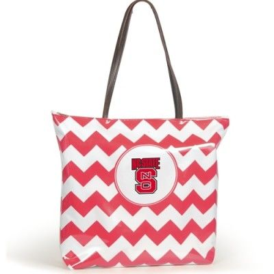 NC State Wolfpack Chevron Tote Bag