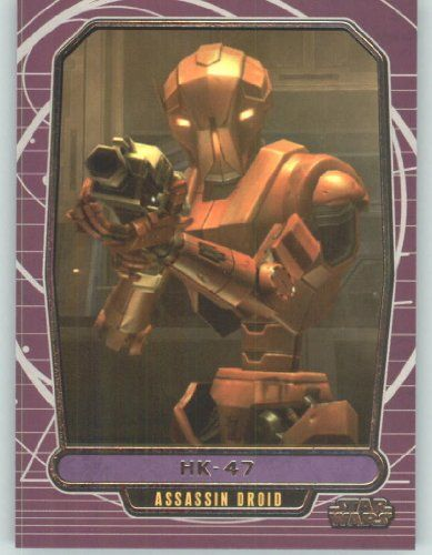 2012 Star Wars Galactic Files #191 HK-47 (Non-Sport Collectible Trading Cards)