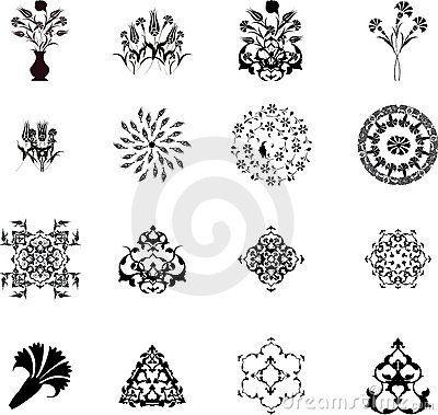 Traditional Ottoman Turkish Design Elements
