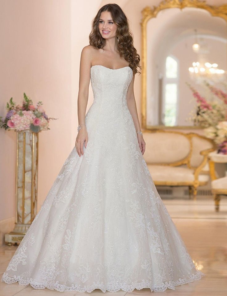 54 besten Gelinlik Modelleri Bilder auf Pinterest | Hochzeitskleider ...