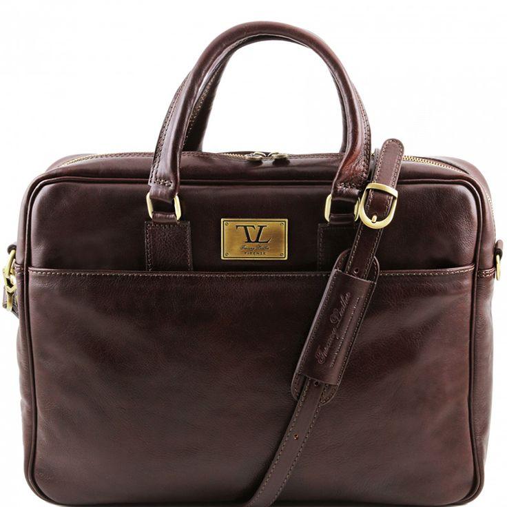 Мужская деловая сумка Urbino Dark Brown от итальянского бренда Tuscany Leather. Подходит для ноутбука с диагональю до 17 дюймов.   Купить здесь http://bagrepublic.ru/bags/urbino-tl141241-dark-brown/   #москва #moscow #бизнес #russia #мск #msk #россия #spb #питер #порусски #красиво #мода #стиль #bagrepublic #bags #briefcase #портфель #сумка #bag #style #VSCO #vscocam #сумки #лайк