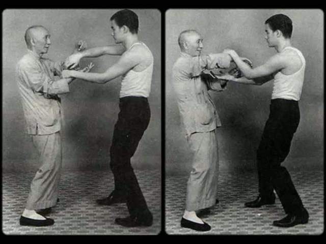 Bruce & Yip Man Chi Sao