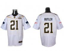 New England Patriots #21 Malcolm Butler White 2016 Pro Bowl