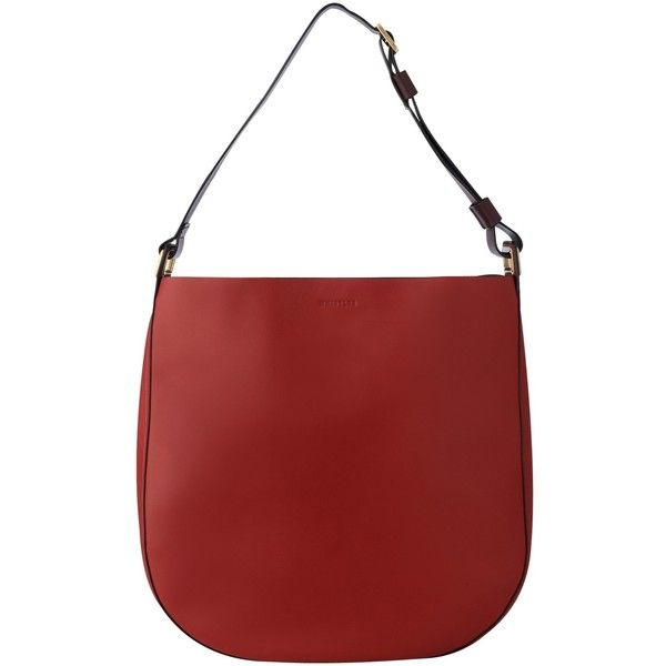Whistles Blake Large Leather Hobo Bag, Dark Red ($220) ❤ liked on Polyvore featuring bags, handbags, shoulder bags, leather man bags, shoulder handbags, leather hand bags, red leather purse and leather shoulder bag