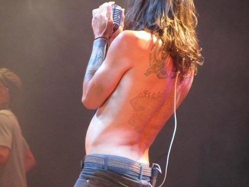 #BrandonBoyd #Incubus #tattoos