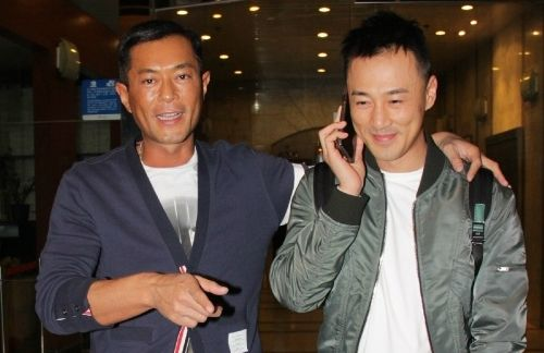 """Louis Koo reportedly invites Raymond Lam to star in the film version of TVB series, """"A Step Into the Past"""", and dismisses rumours of discord with friendly behaviour."""