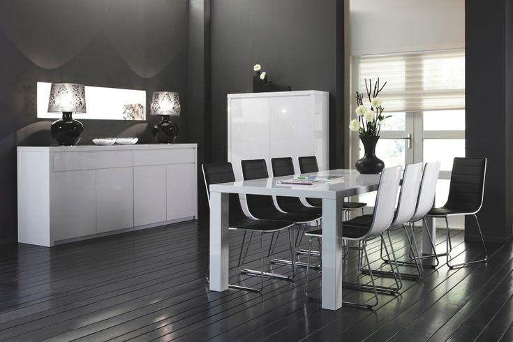 Stoelen meubelen gen o minimalism chairs pinterest - Moderne eetkamer set ...