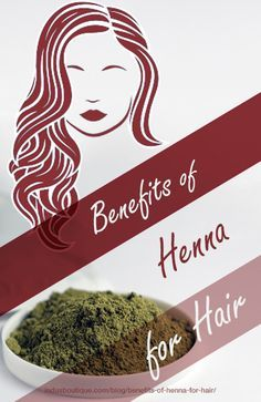 8 Amazing Benefits of #Henna for #Hair http://www.indusboutique.com/blog/benefits-of-henna-for-hair/