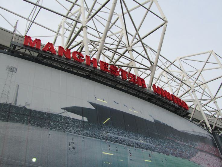 The Old Traford of the Man Utd. manchester, UK. 2010