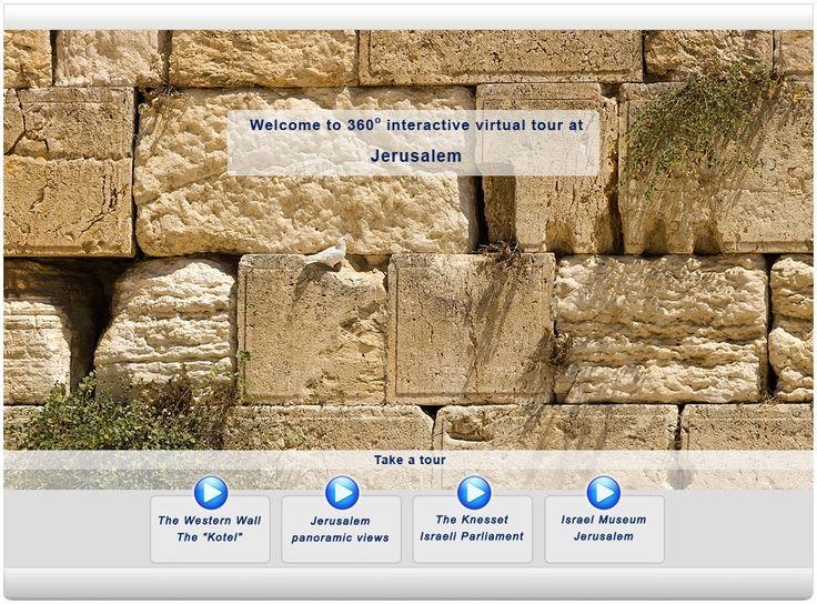 interactive 360 degree tour of Jerusalem