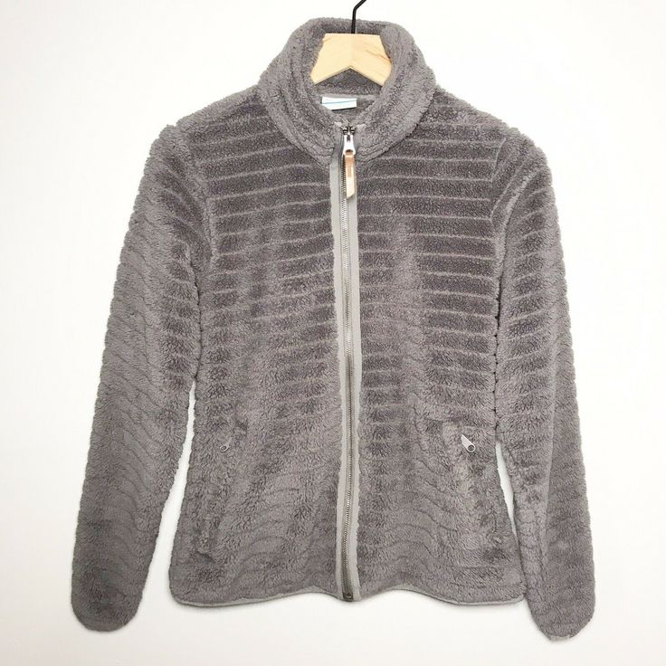 Columbia Womens Size Small Ribbed Teddy Sherpa High Pile ...