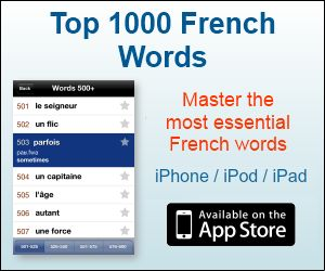 1000 Most Used French Words - Must Learn French Vocabulary