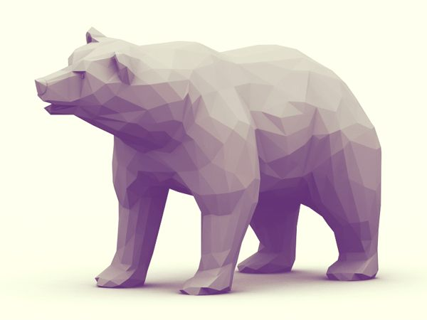 Low-Poly [Animal Kingdom] by Timothy J. Reynolds, Creating animals in 3D with a texture and look of origami figures