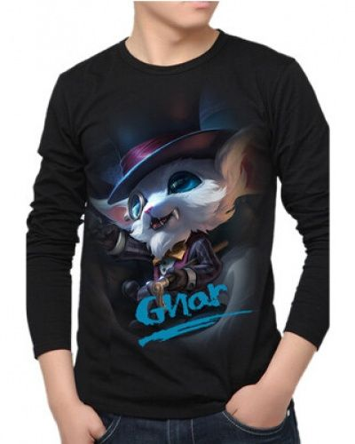 The Missing Link Gnar long sleeve t shirt for teens LOL League of Legends