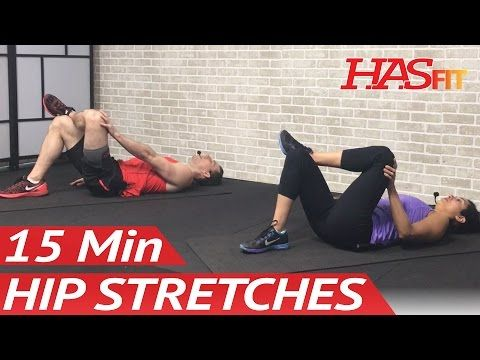 15 Min Hip Stretches: Hip Stretching Exercises for Hip Pain - Hip Stretch & Rehab Mobility Drills - YouTube